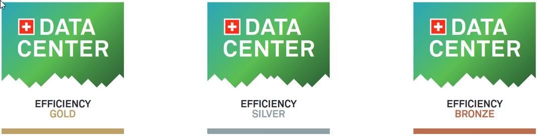 logos des labels d'efficacité energetique des datacenters