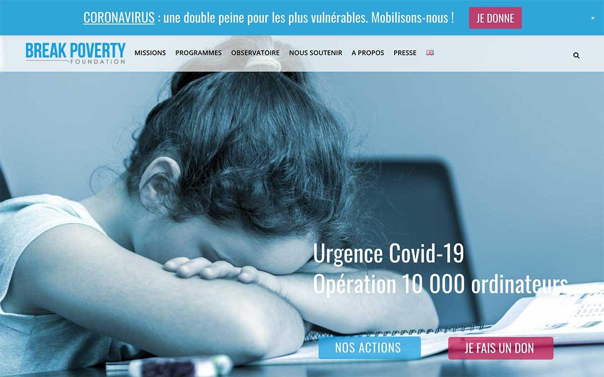 Covid 19 10000 ordinateurs pour les enfants