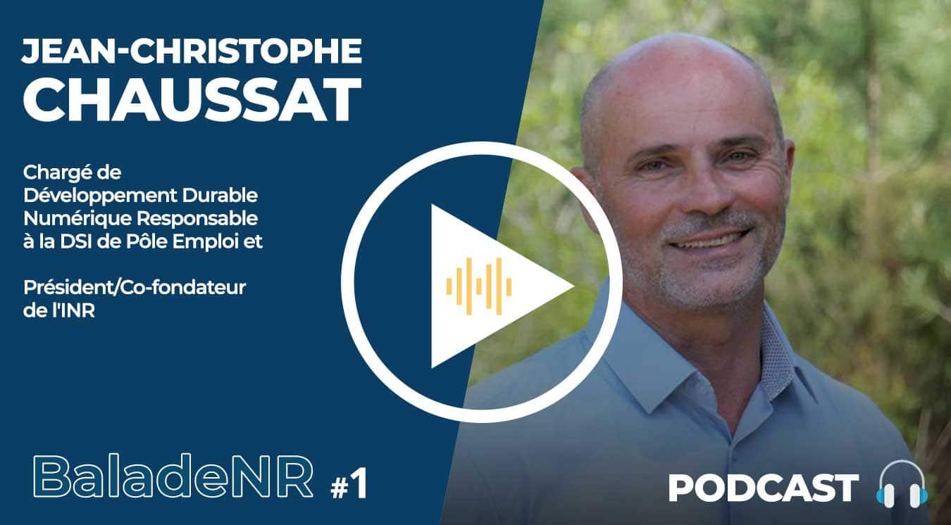 Jean-Christophe Chaussat, DSI Pôle Emploi, Président INR