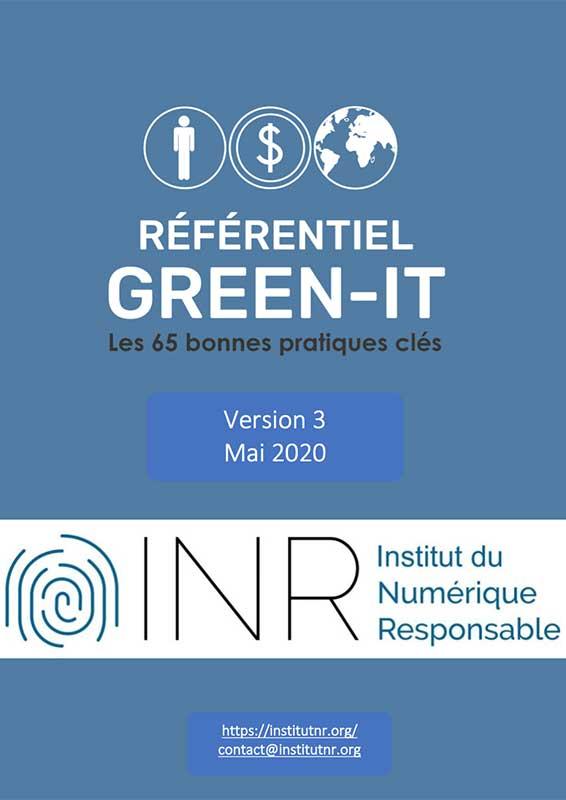 Le Petit Livre Bleu - Référentiel Green IT v3 - 2020