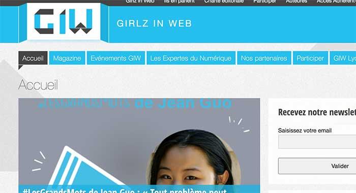 Girlz in Web