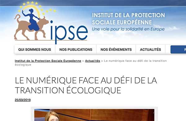 Institut  de la protection sociale européenne