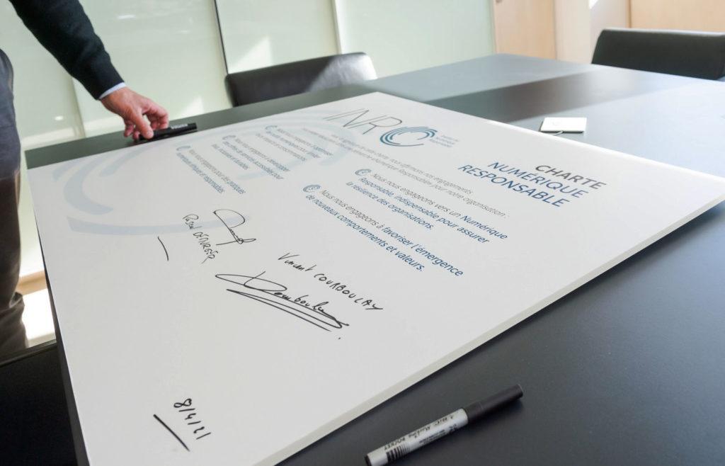 Signature Charte NR par la Maif