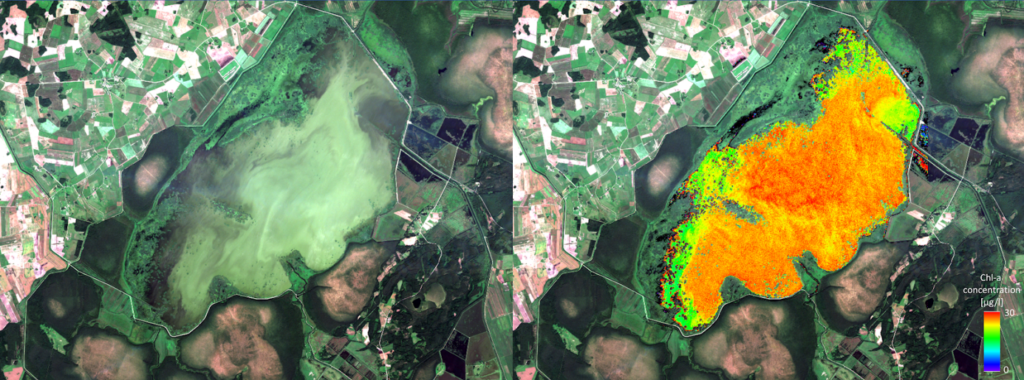 Observations of water quality from space